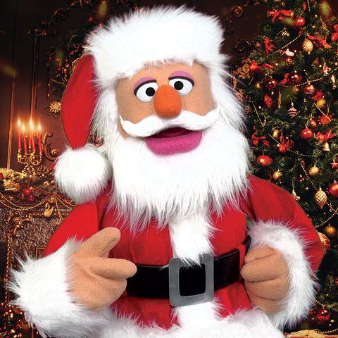 Puppet Santa
