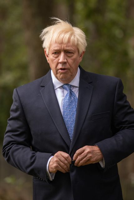 Boris Johnson Impersonator